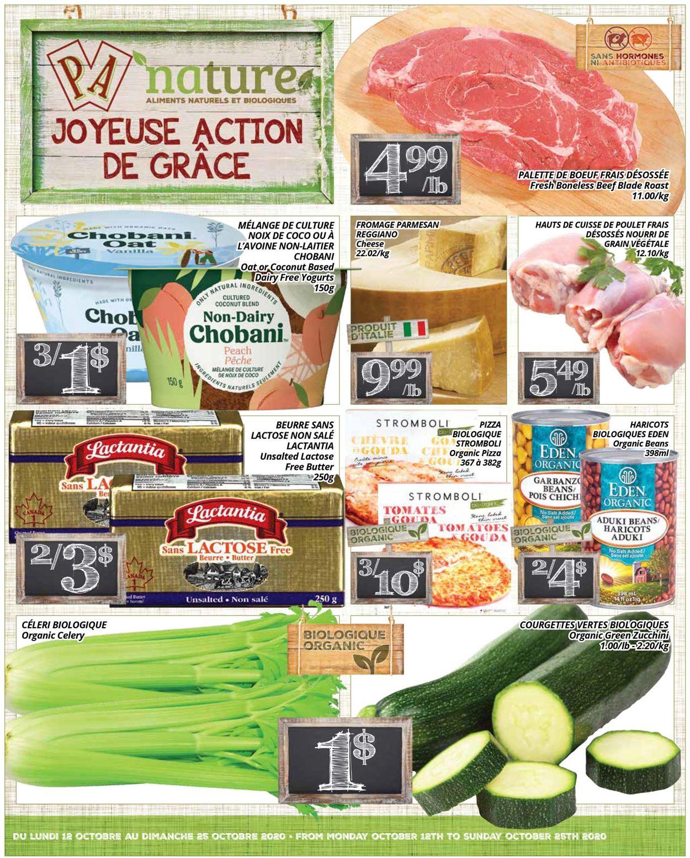 PA Supermarché Flyer - 10/12-10/25/2020