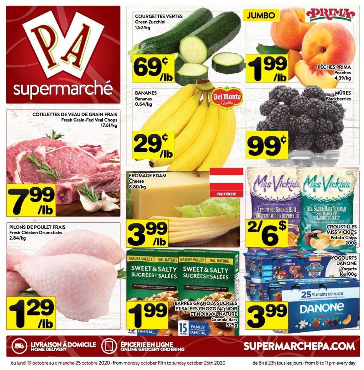 PA Supermarché Flyer - 10/19-10/25/2020