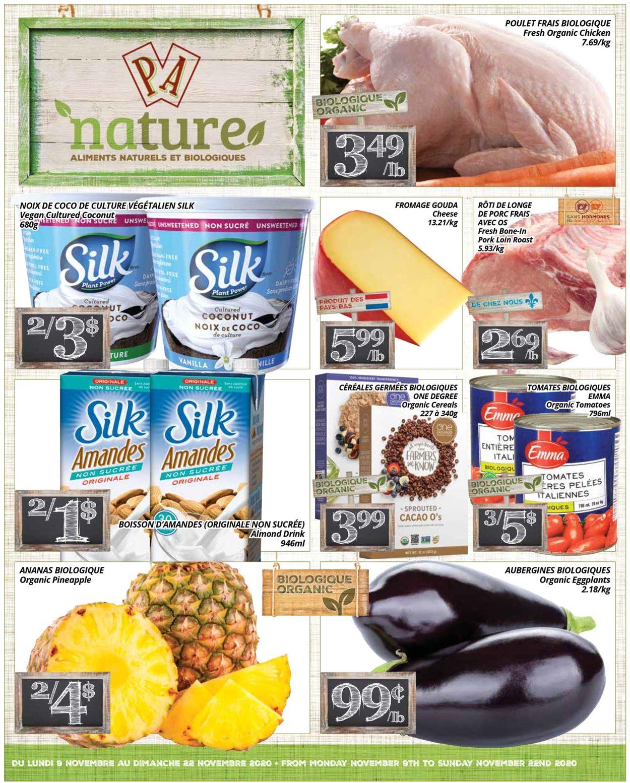 PA Supermarché Flyer - 11/09-11/22/2020