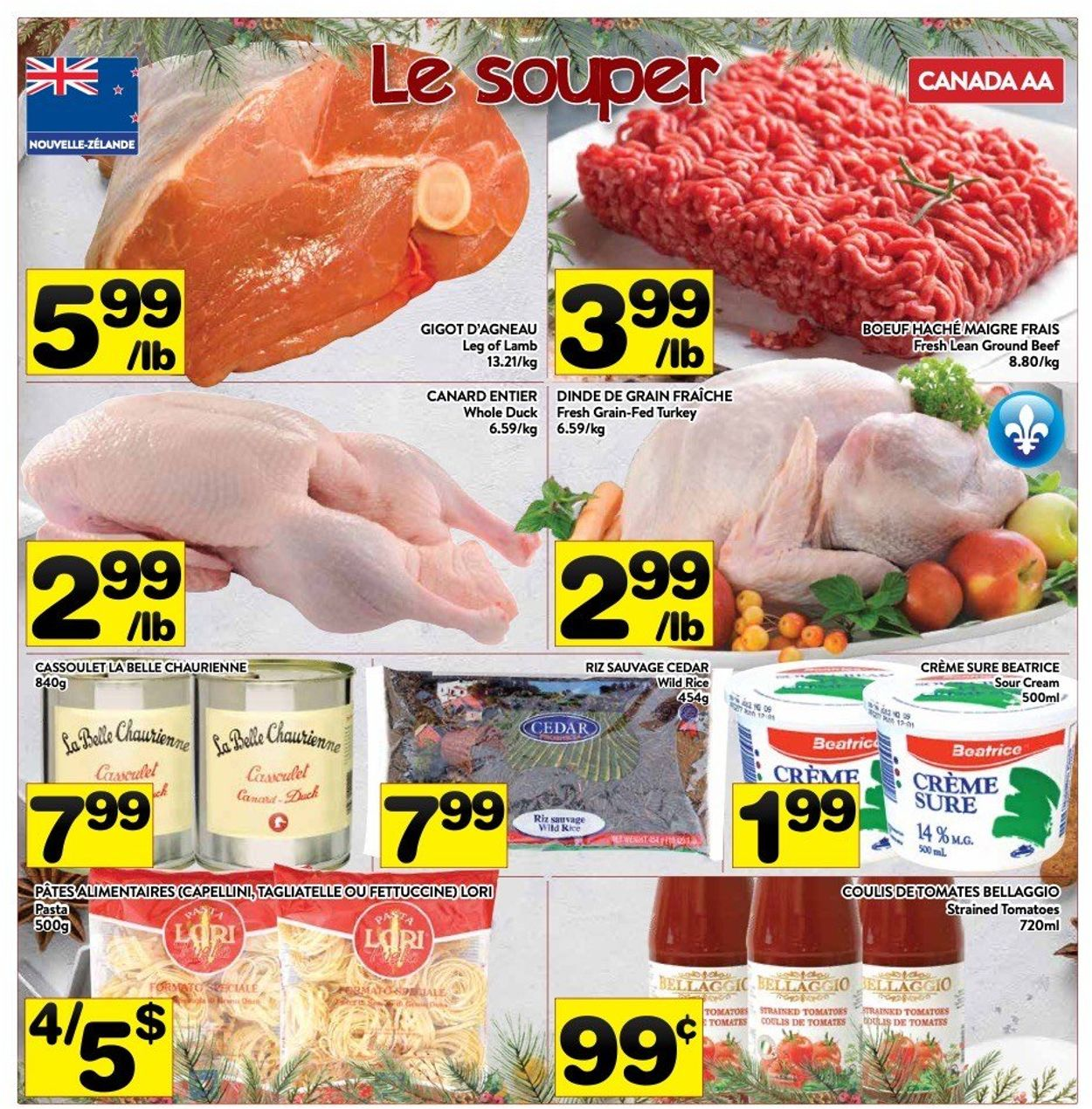 PA Supermarché - Christmas 2020 Flyer - 12/14-12/27/2020 (Page 4)