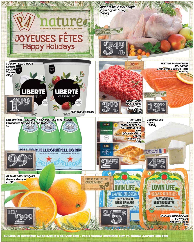 PA Supermarché - Christmas 2020 Flyer - 12/21-01/03/2021