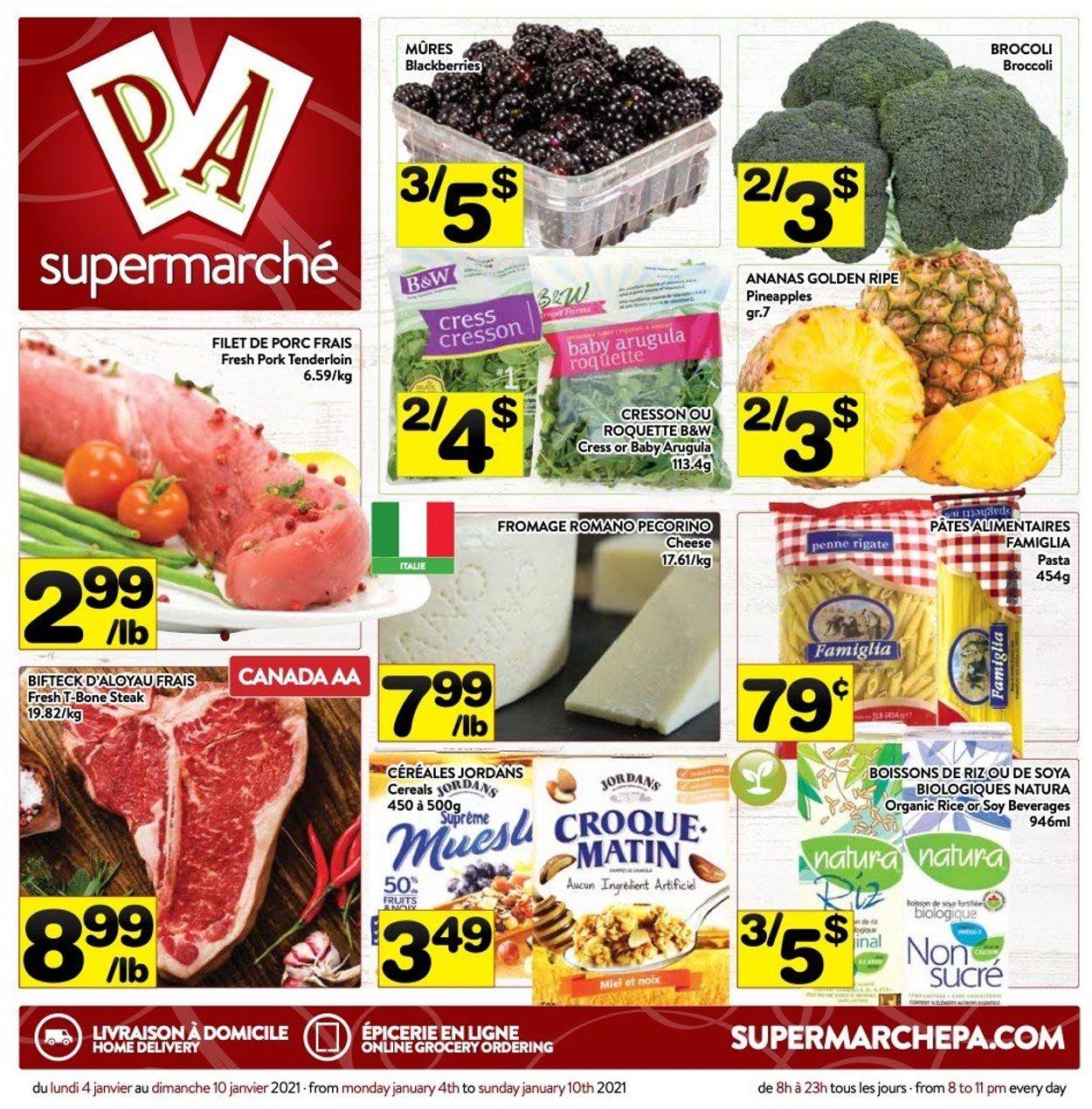 PA Supermarché Flyer - 01/04-01/10/2021