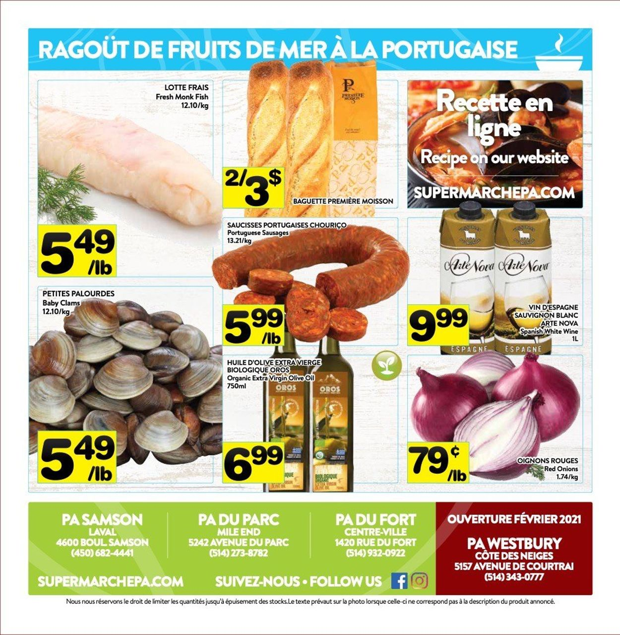 PA Supermarché Flyer - 01/25-01/31/2021 (Page 4)