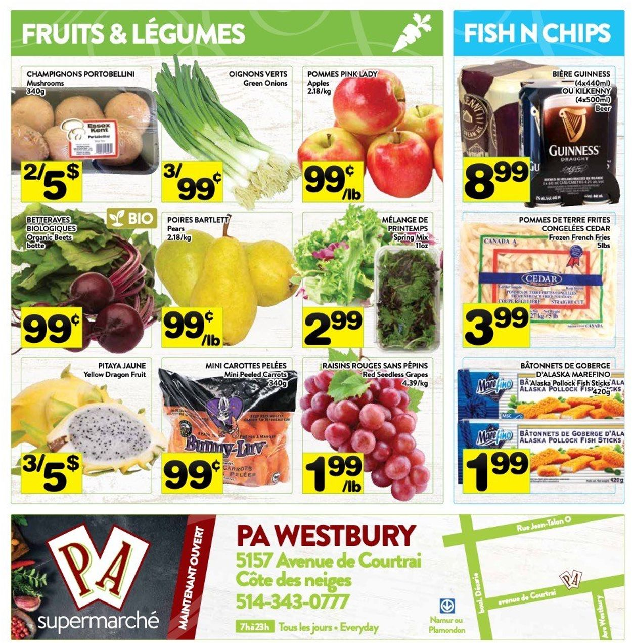 PA Supermarché Flyer - 03/15-03/21/2021 (Page 7)