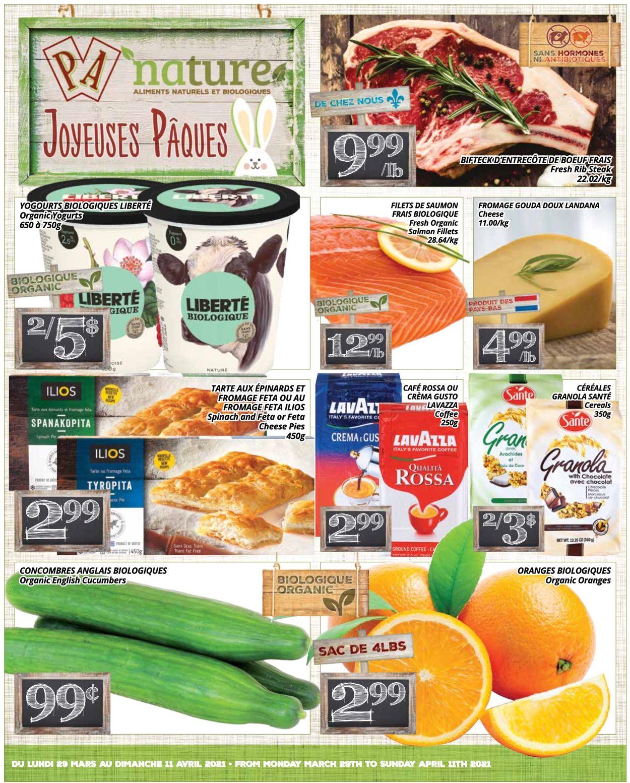 PA Supermarché Flyer - 03/29-04/11/2021