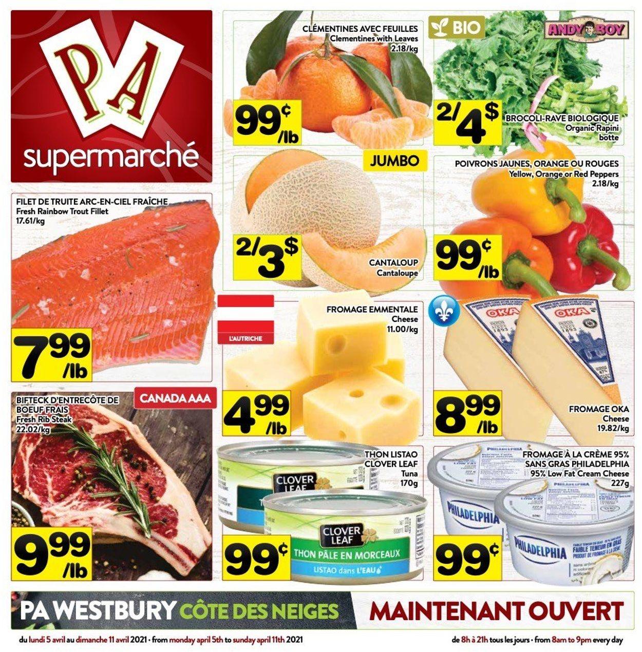 PA Supermarché Flyer - 04/05-04/11/2021