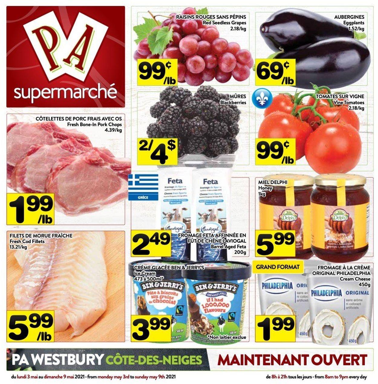 PA Supermarché Flyer - 05/03-05/09/2021