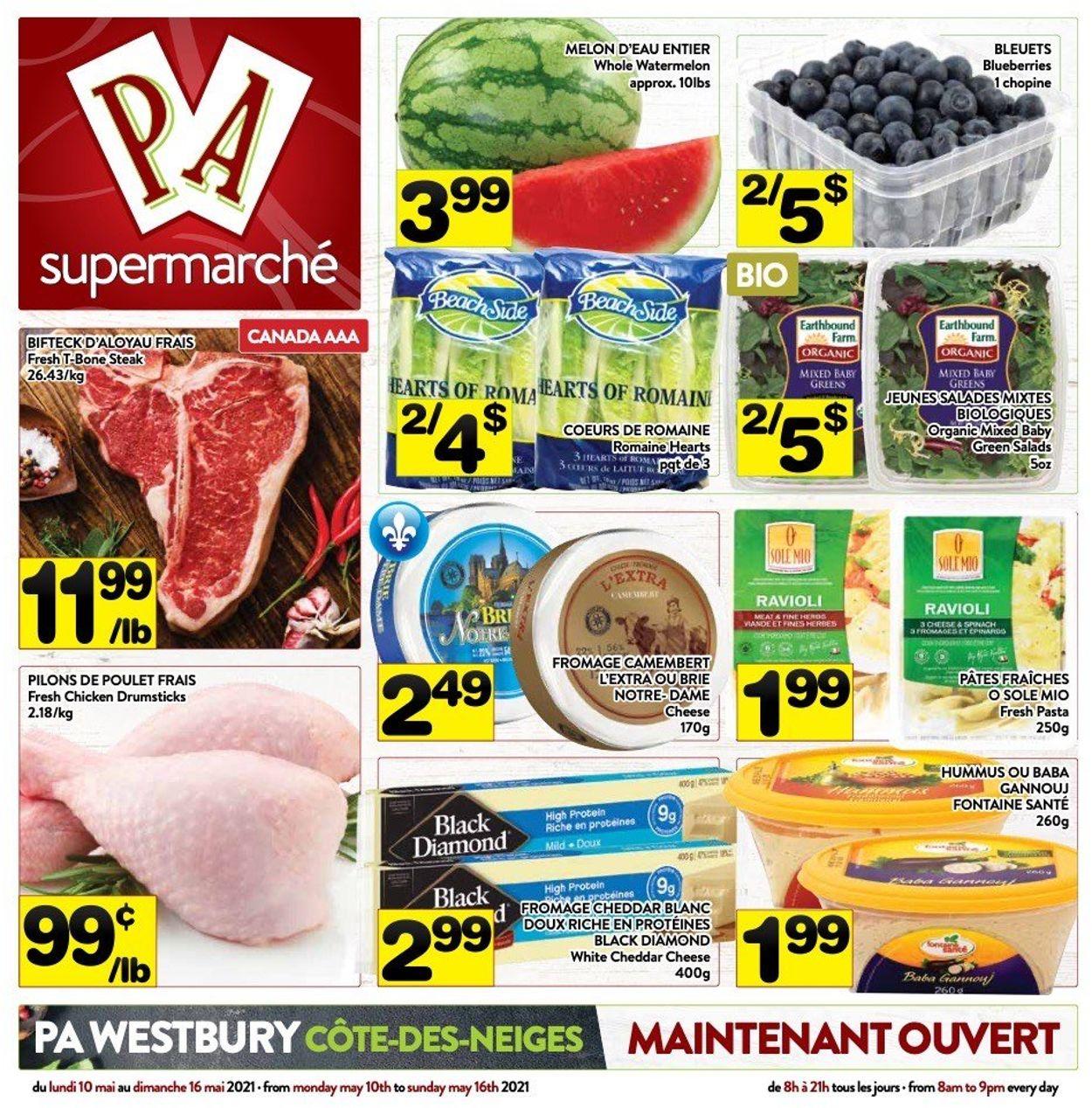 PA Supermarché Flyer - 05/10-05/16/2021