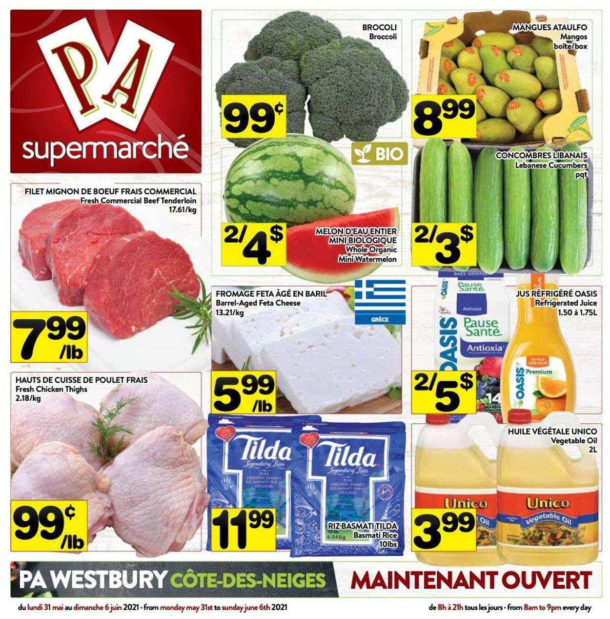 PA Supermarché Flyer - 05/31-06/06/2021