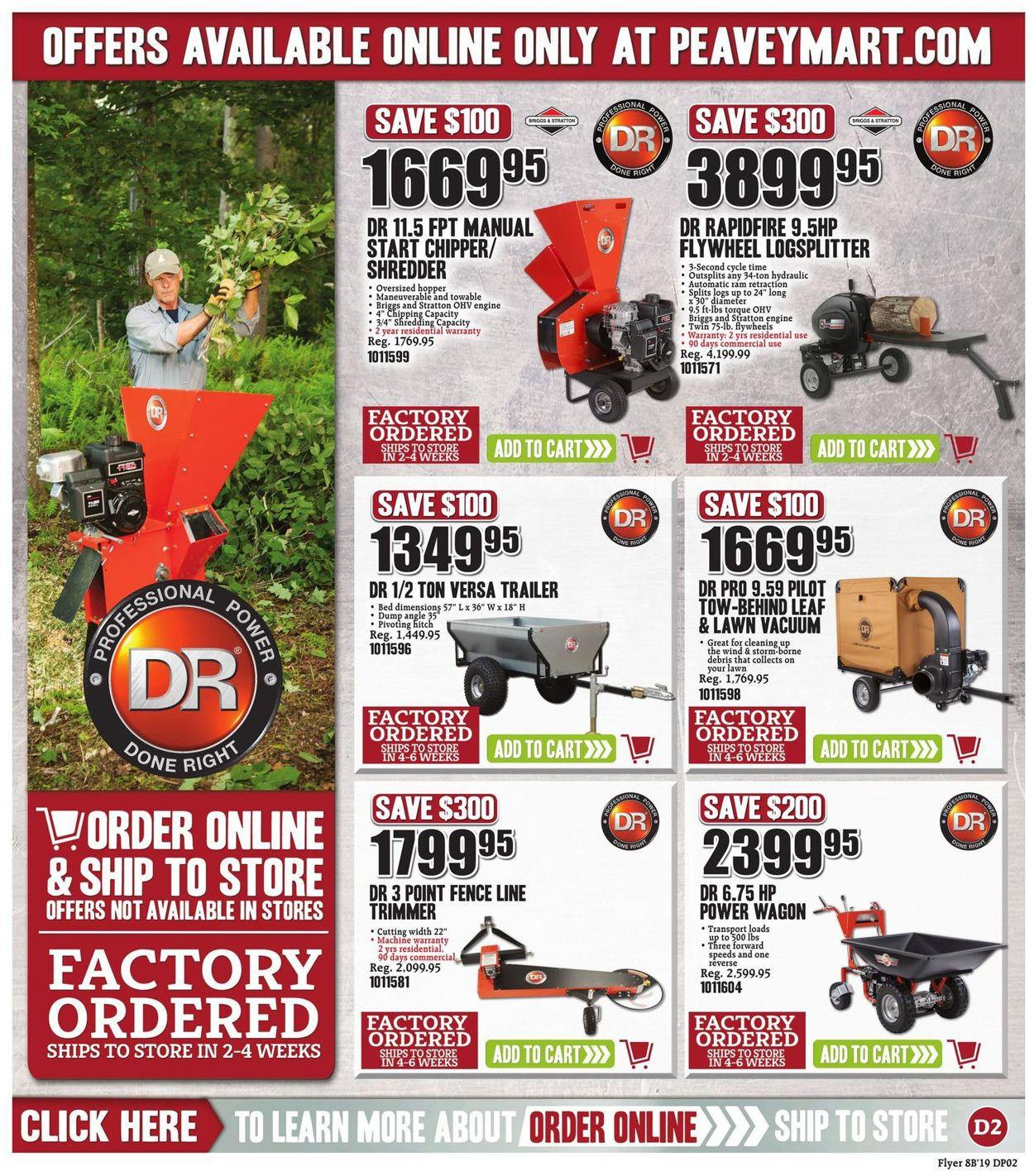 Peavey Mart Flyer - 09/13-09/22/2019 (Page 18)