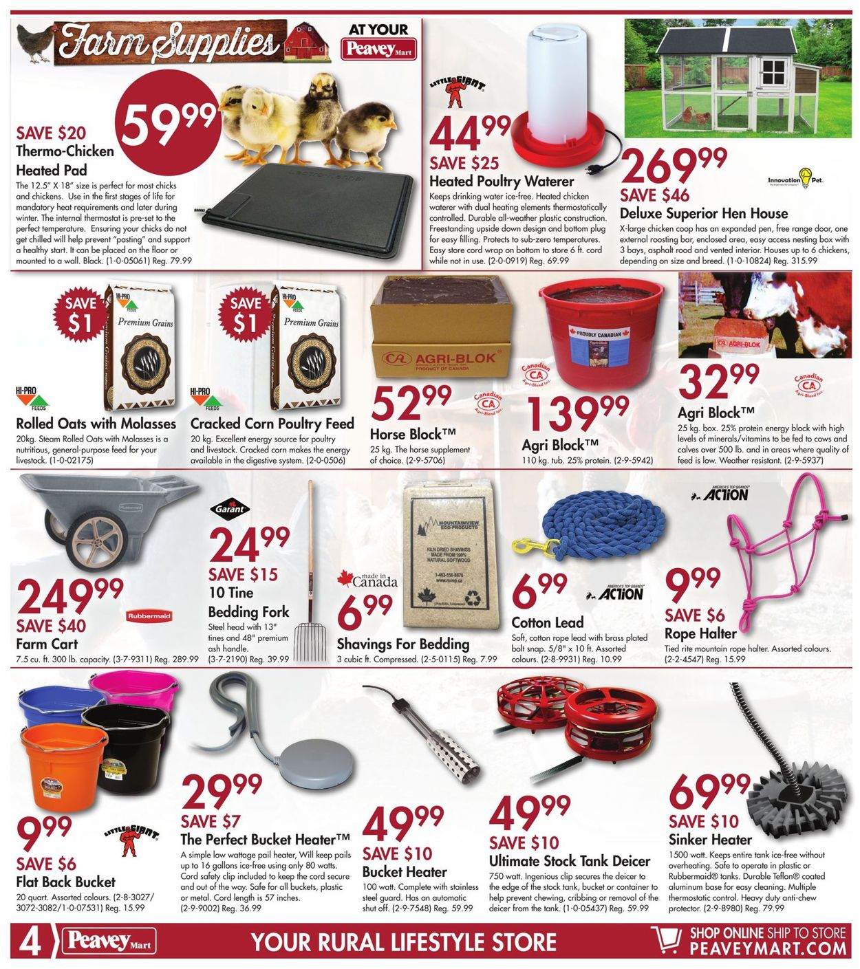 Peavey Mart Flyer - 11/01-11/10/2019 (Page 4)