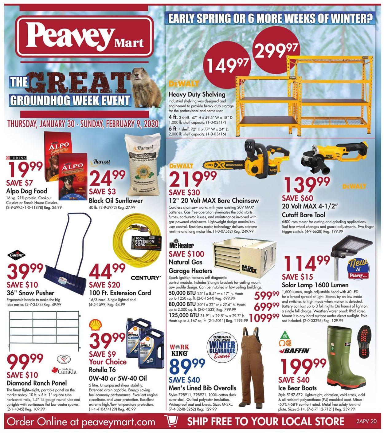 Peavey Mart Flyer 01 30 02 09 2020 Page 3 Rabato