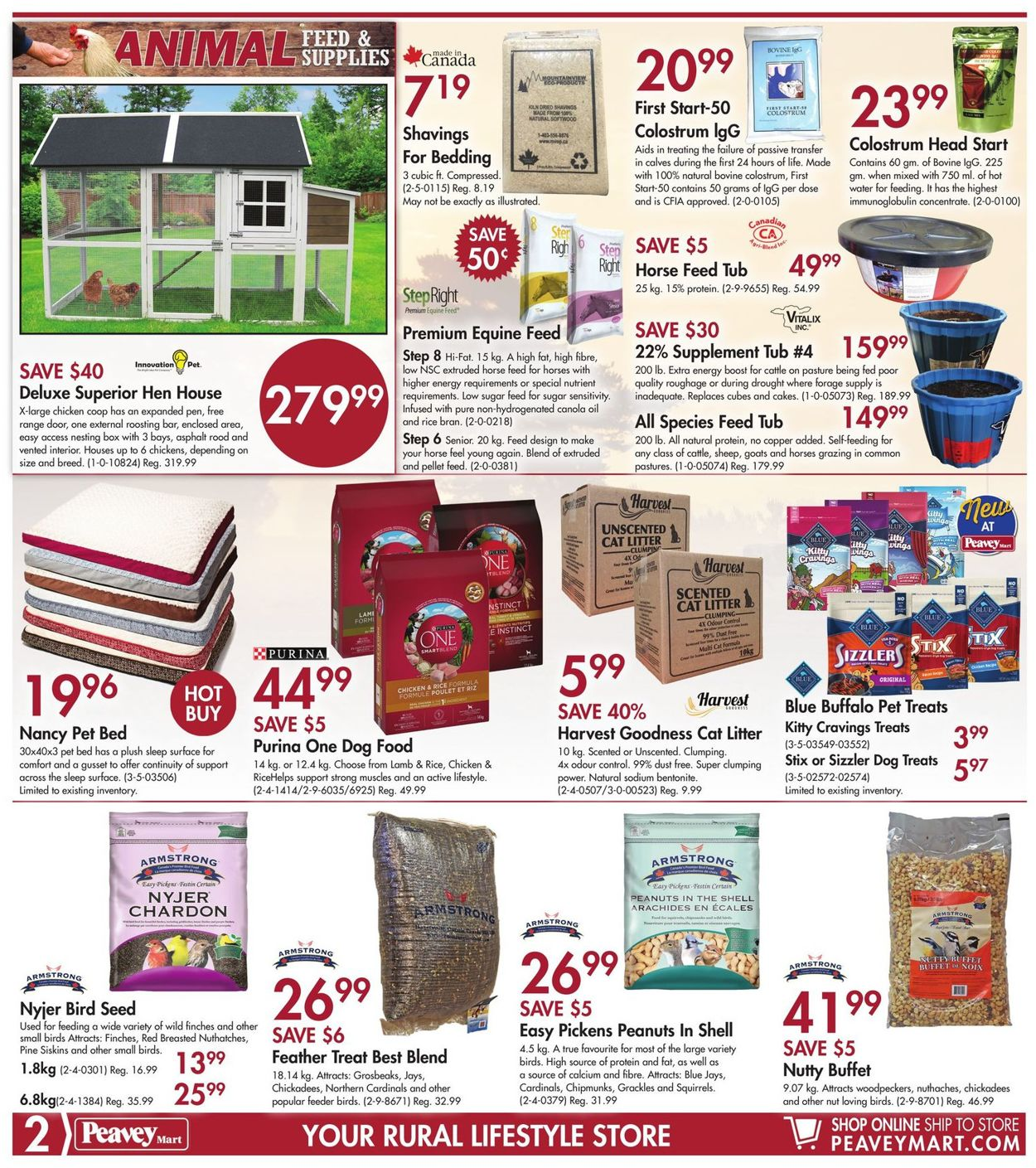 Peavey Mart Flyer - 03/19-03/29/2020 (Page 2)
