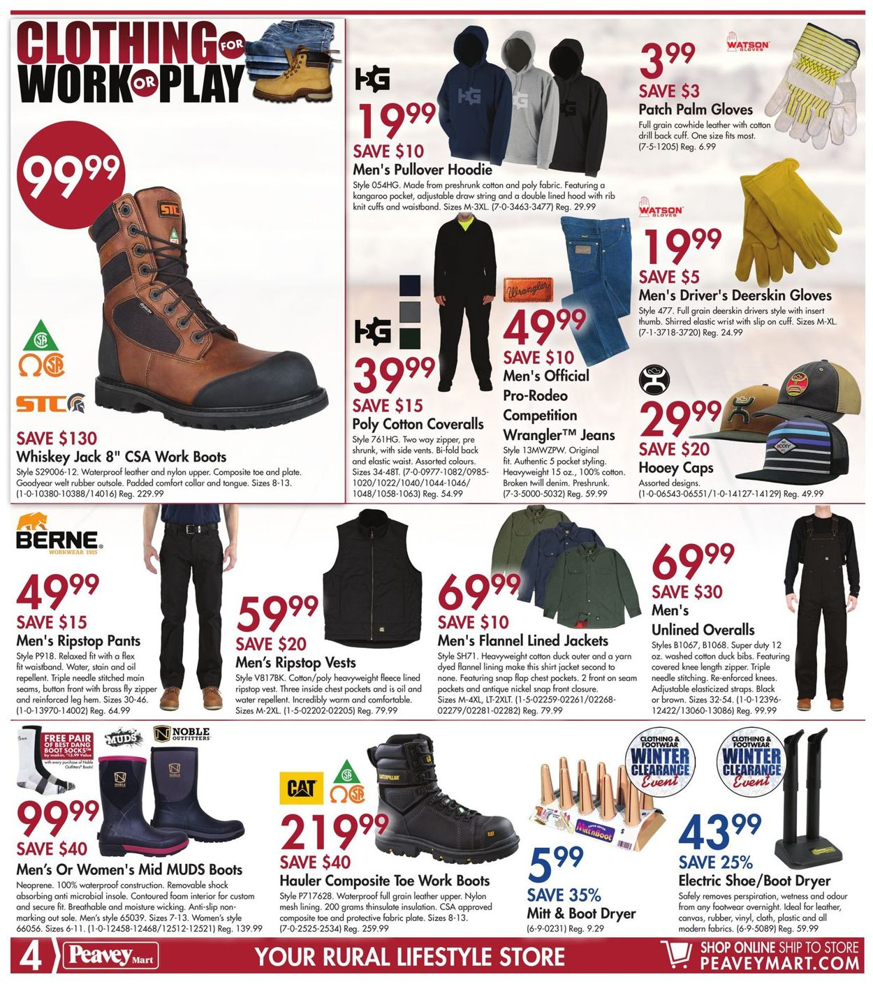 Peavey Mart Flyer - 03/19-03/29/2020 (Page 4)
