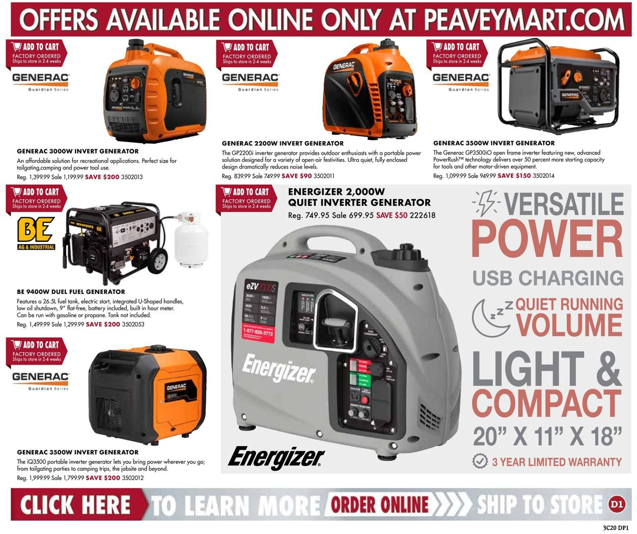 Peavey Mart Flyer - 03/19-03/29/2020 (Page 17)