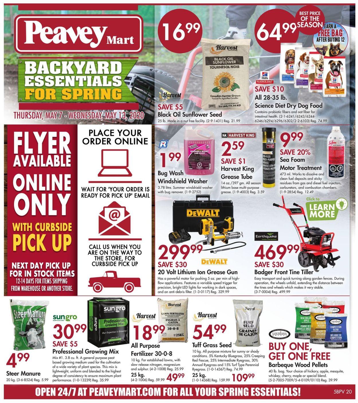 Peavey Mart Flyer - 05/07-05/13/2020