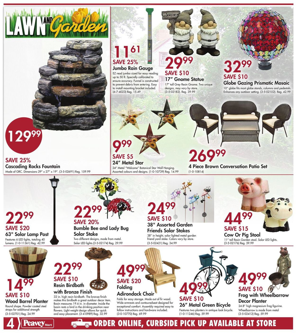 Peavey Mart Flyer - 05/14-05/20/2020 (Page 4)