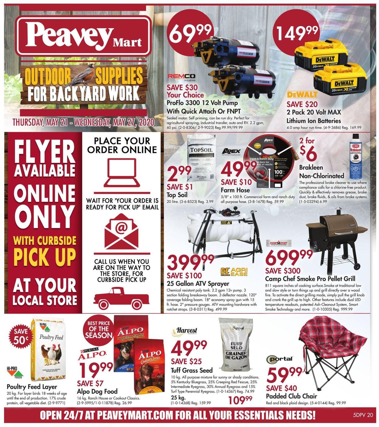 Peavey Mart Flyer - 05/21-05/27/2020