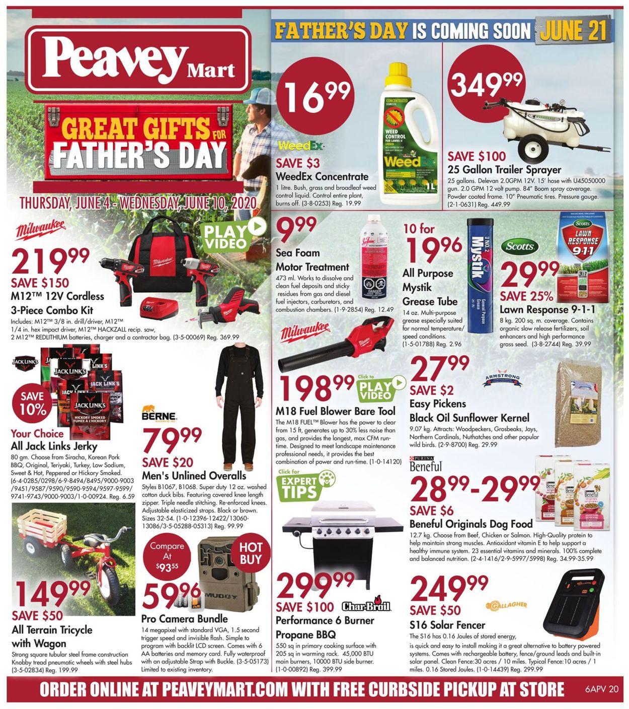 Peavey Mart Flyer - 06/04-06/10/2020