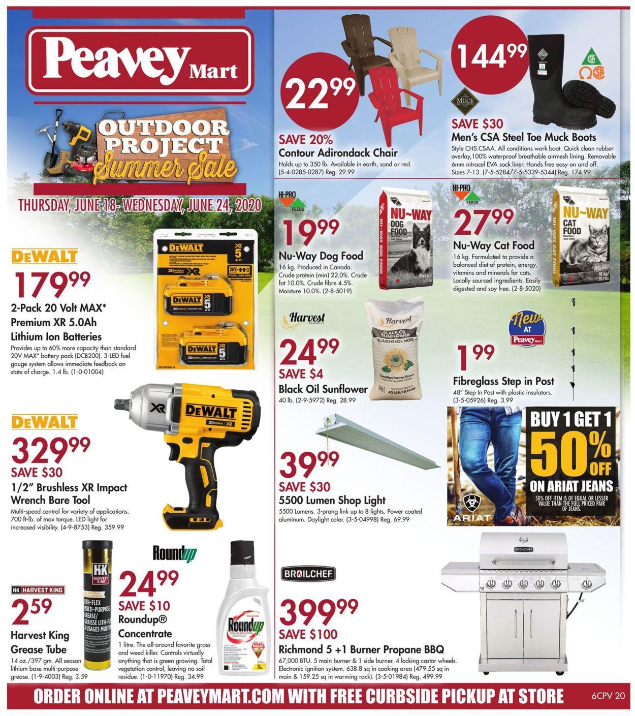 Peavey Mart Flyer - 06/18-06/24/2020