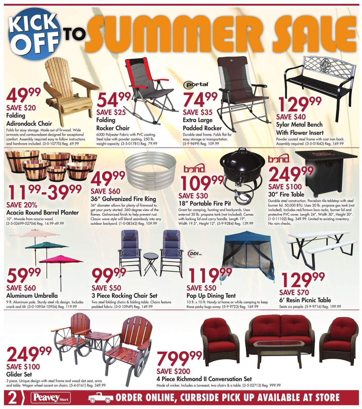 Peavey Mart Flyer - 06/25-07/05/2020 (Page 3)