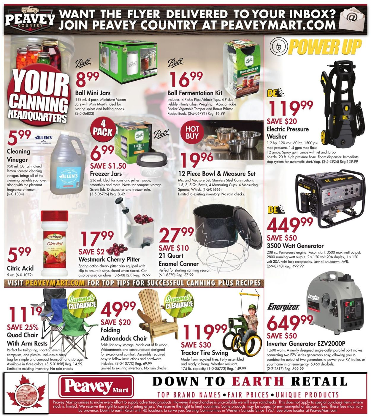Peavey Mart Flyer - 07/30-08/05/2020 (Page 10)