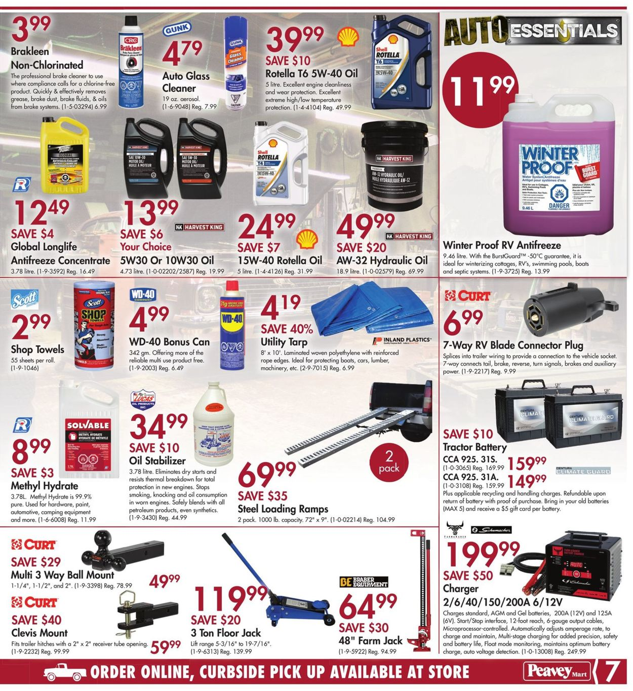 Peavey Mart Flyer - 08/06-08/16/2020 (Page 9)