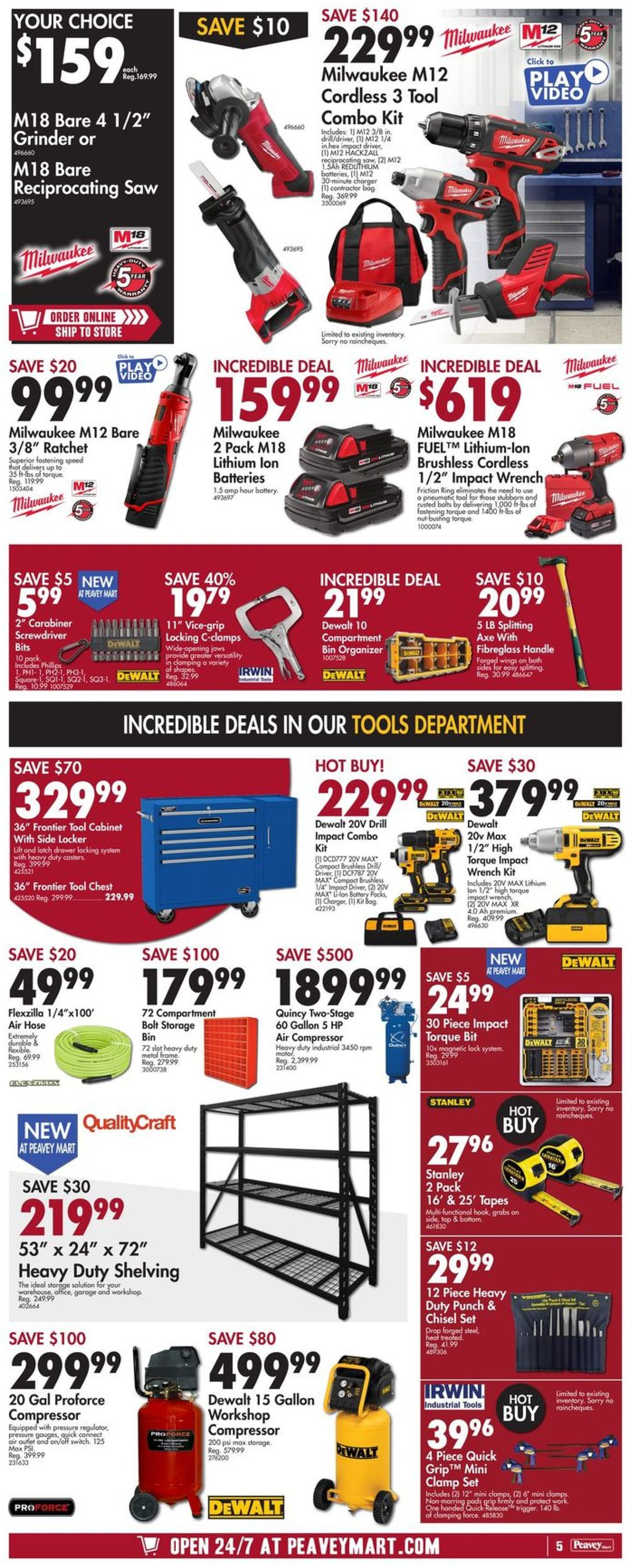 Peavey Mart Flyer - 09/18-09/23/2020 (Page 5)