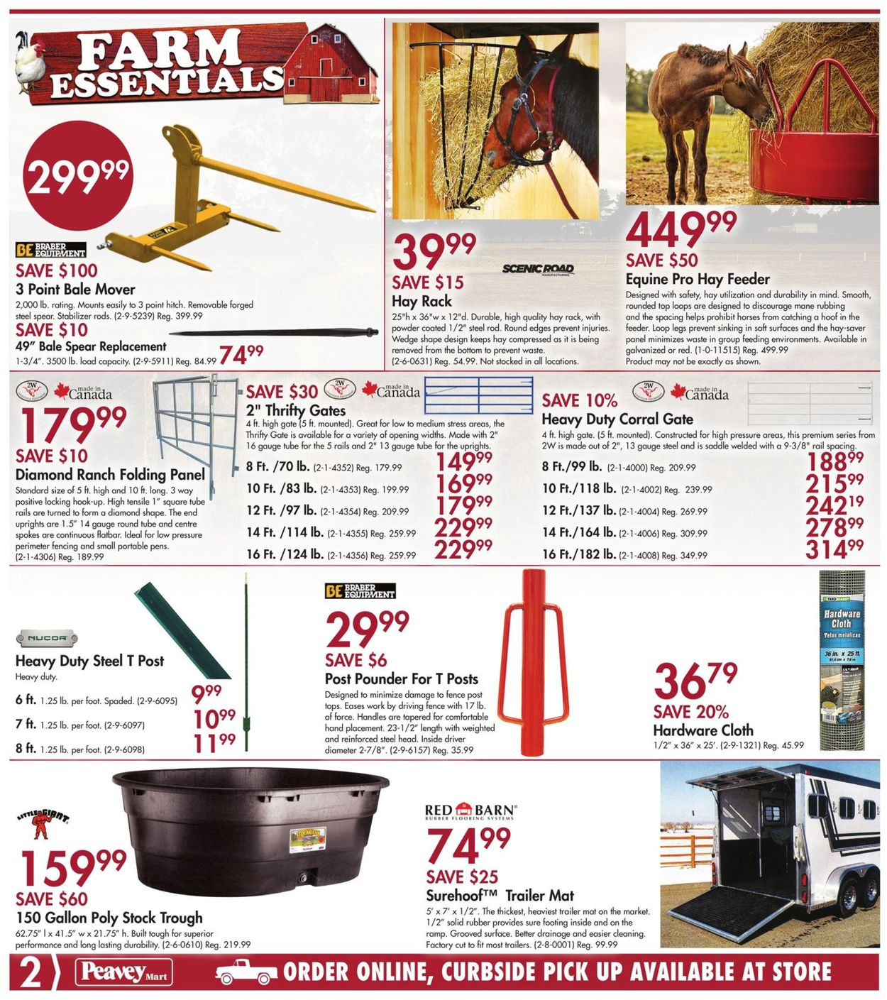 Peavey Mart Flyer - 09/24-10/01/2020 (Page 2)