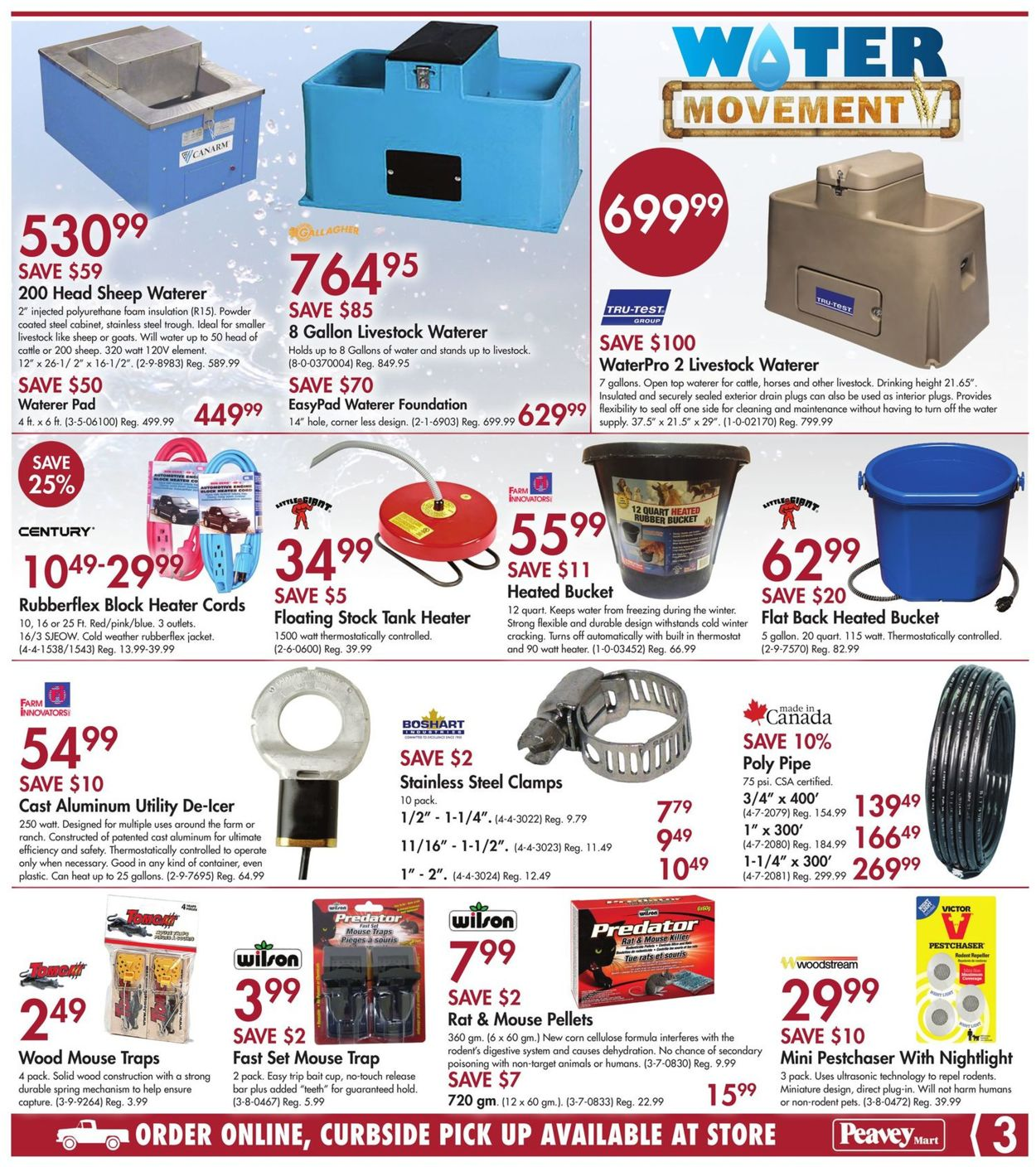 Peavey Mart Flyer - 09/24-10/01/2020 (Page 3)