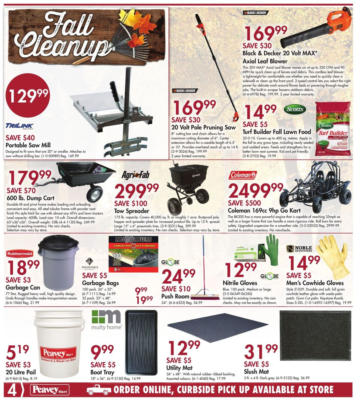 Peavey Mart Flyer - 09/24-10/01/2020 (Page 4)
