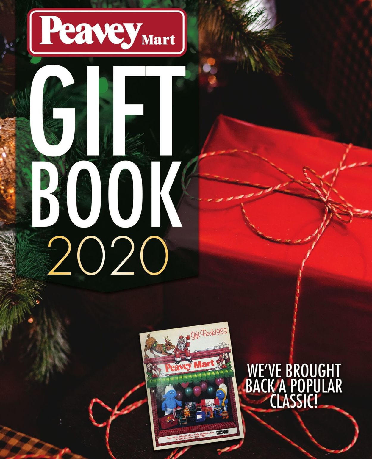 Peavey Mart Gift Book - Christmas 2020 Flyer - 11/06-12/25/2020