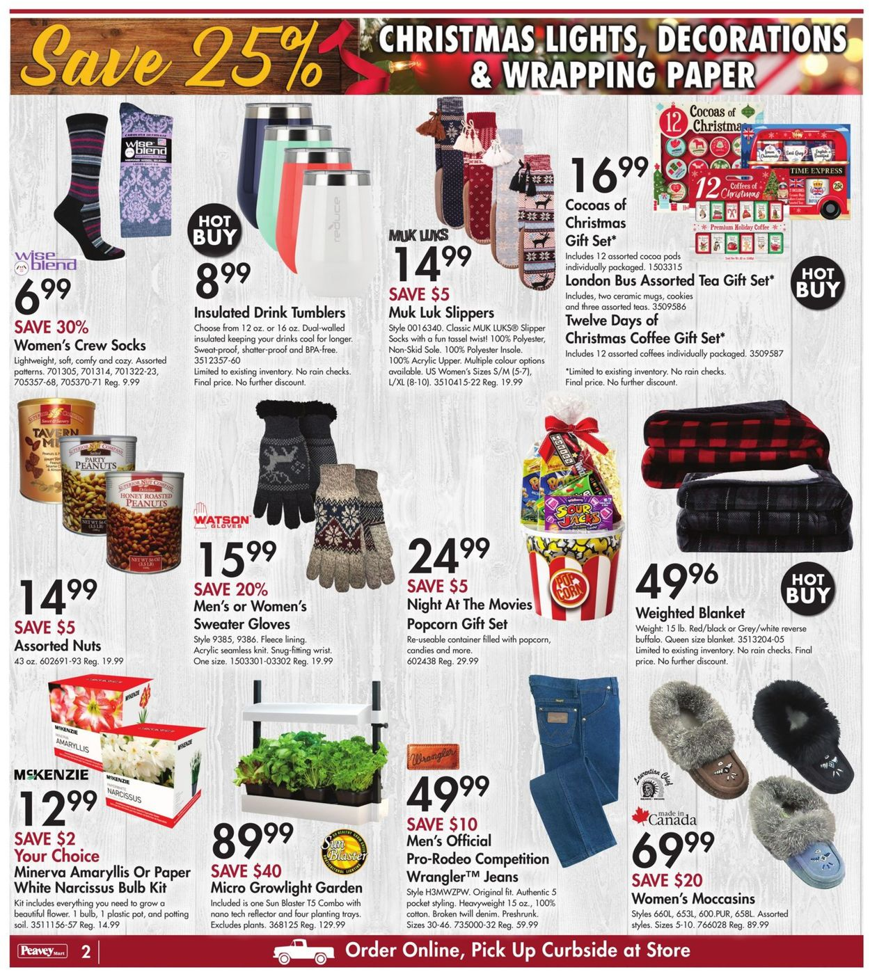 Peavey Mart - Christmas 2020 Flyer - 12/10-12/16/2020 (Page 3)