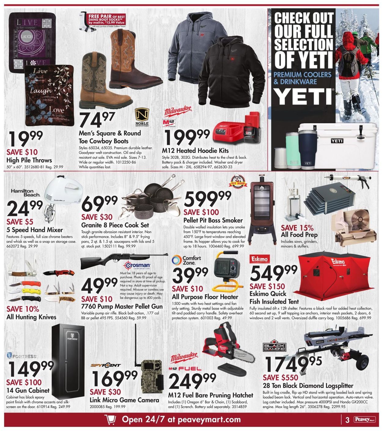 Peavey Mart - Christmas 2020 Flyer - 12/10-12/16/2020 (Page 5)