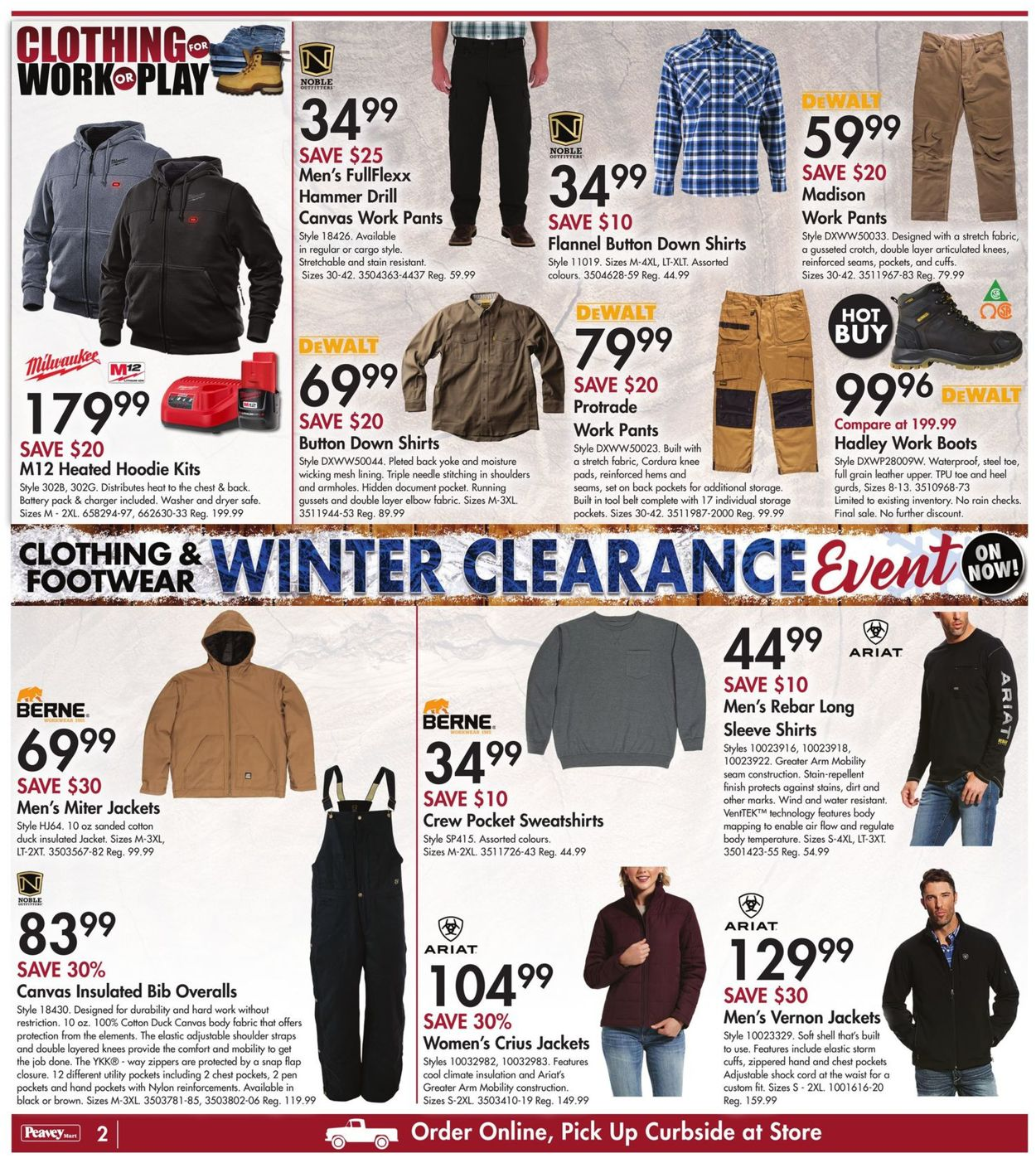 Peavey Mart - New Year 2021 Flyer - 12/31-01/07/2021 (Page 3)
