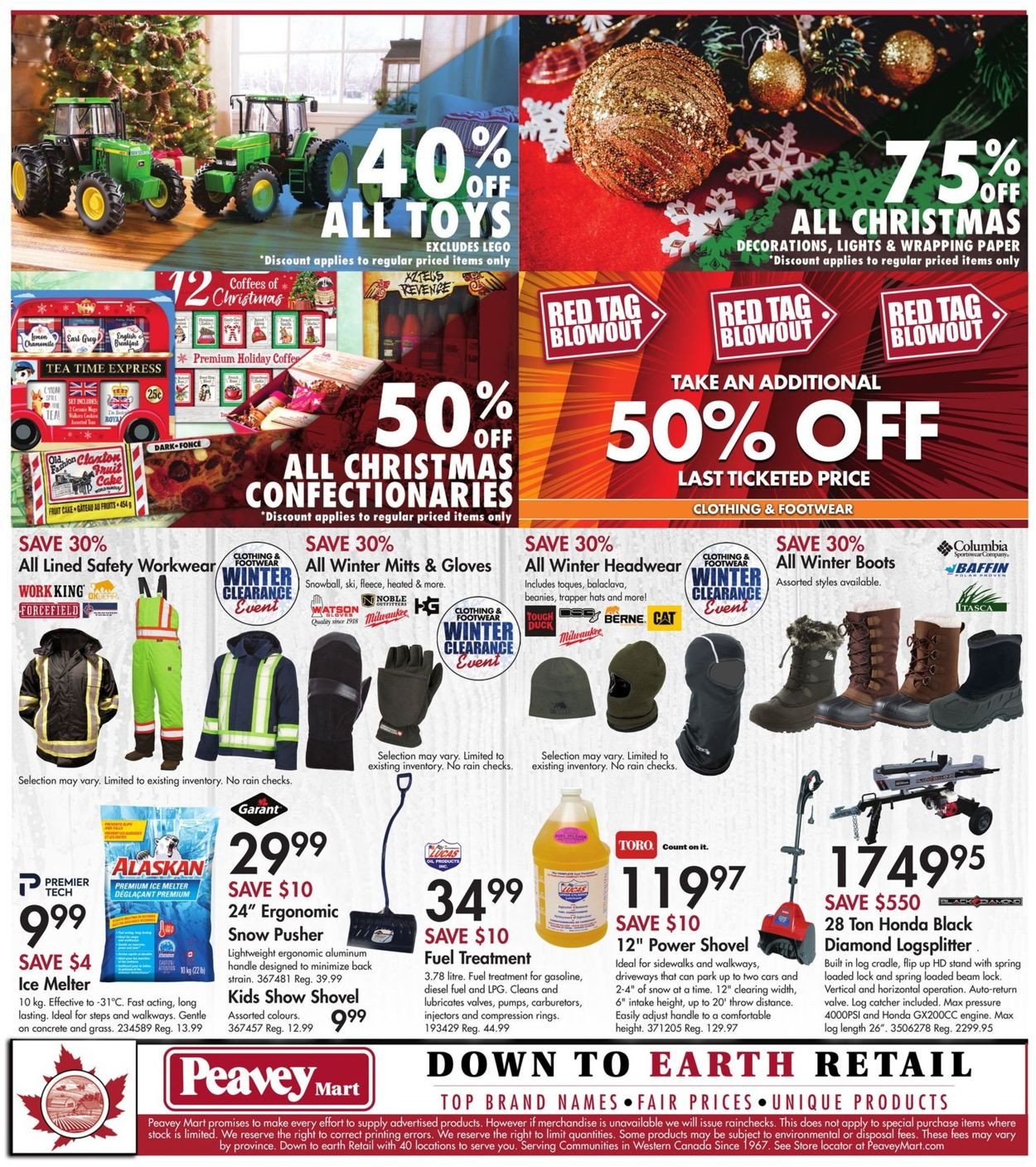 Peavey Mart - New Year 2021 Flyer - 12/31-01/07/2021 (Page 14)