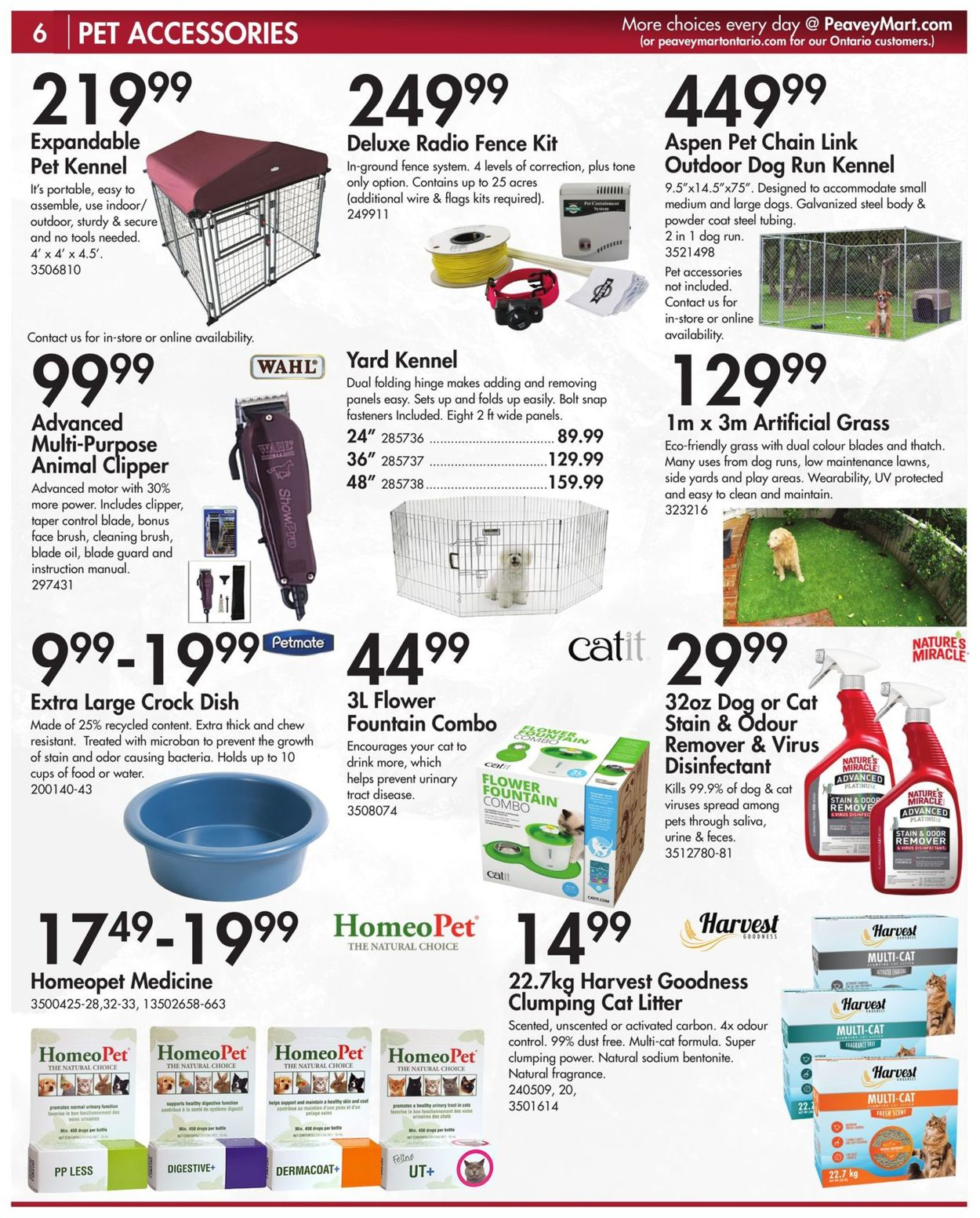 Peavey Mart Flyer - 03/15-12/31/2021 (Page 8)