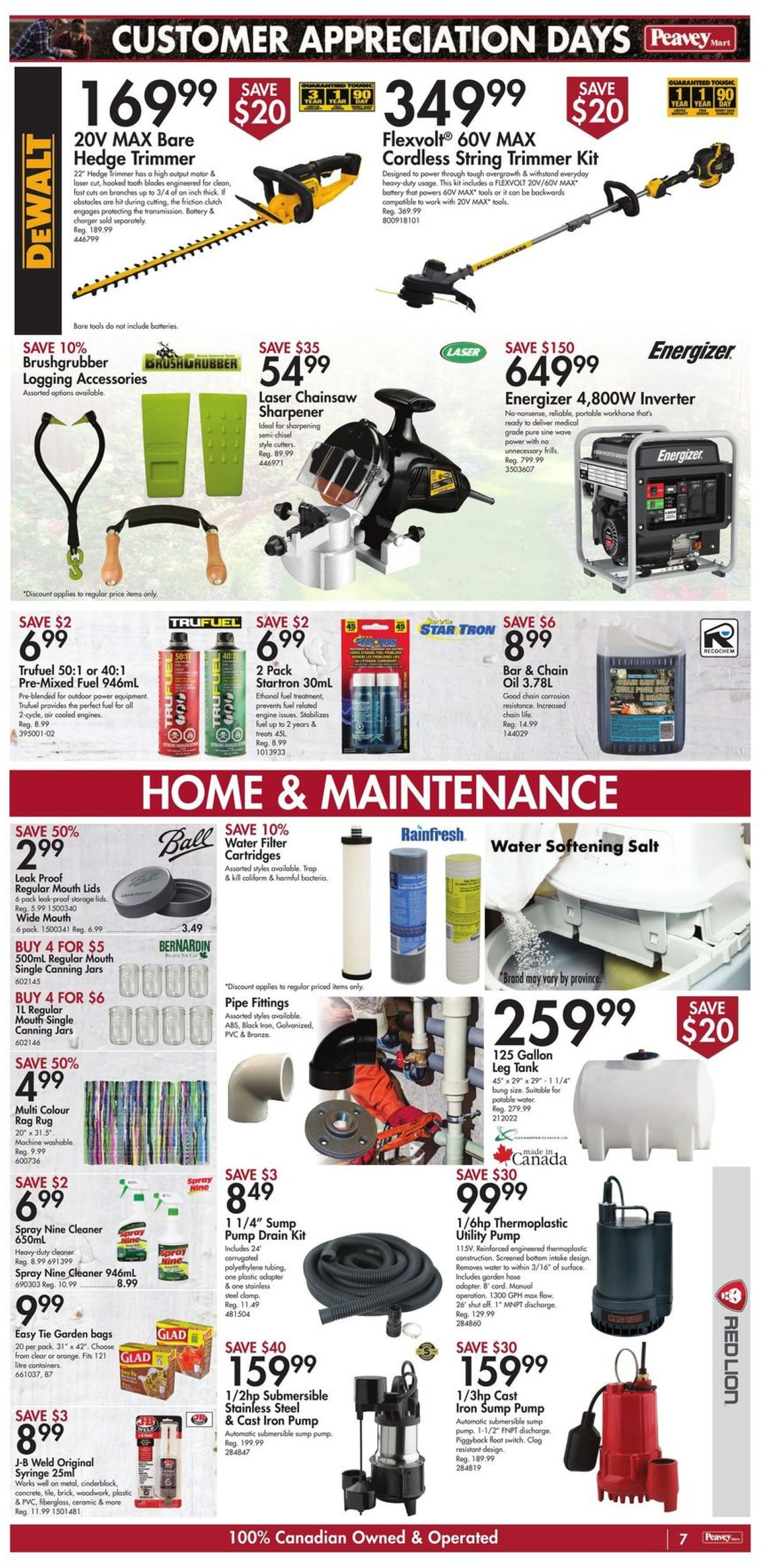 Peavey Mart Flyer - 04/30-05/06/2021 (Page 10)