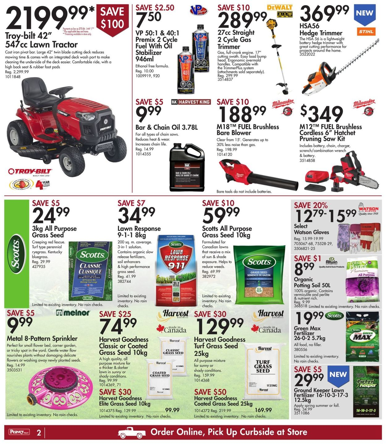 Peavey Mart Flyer - 06/24-07/01/2021 (Page 3)