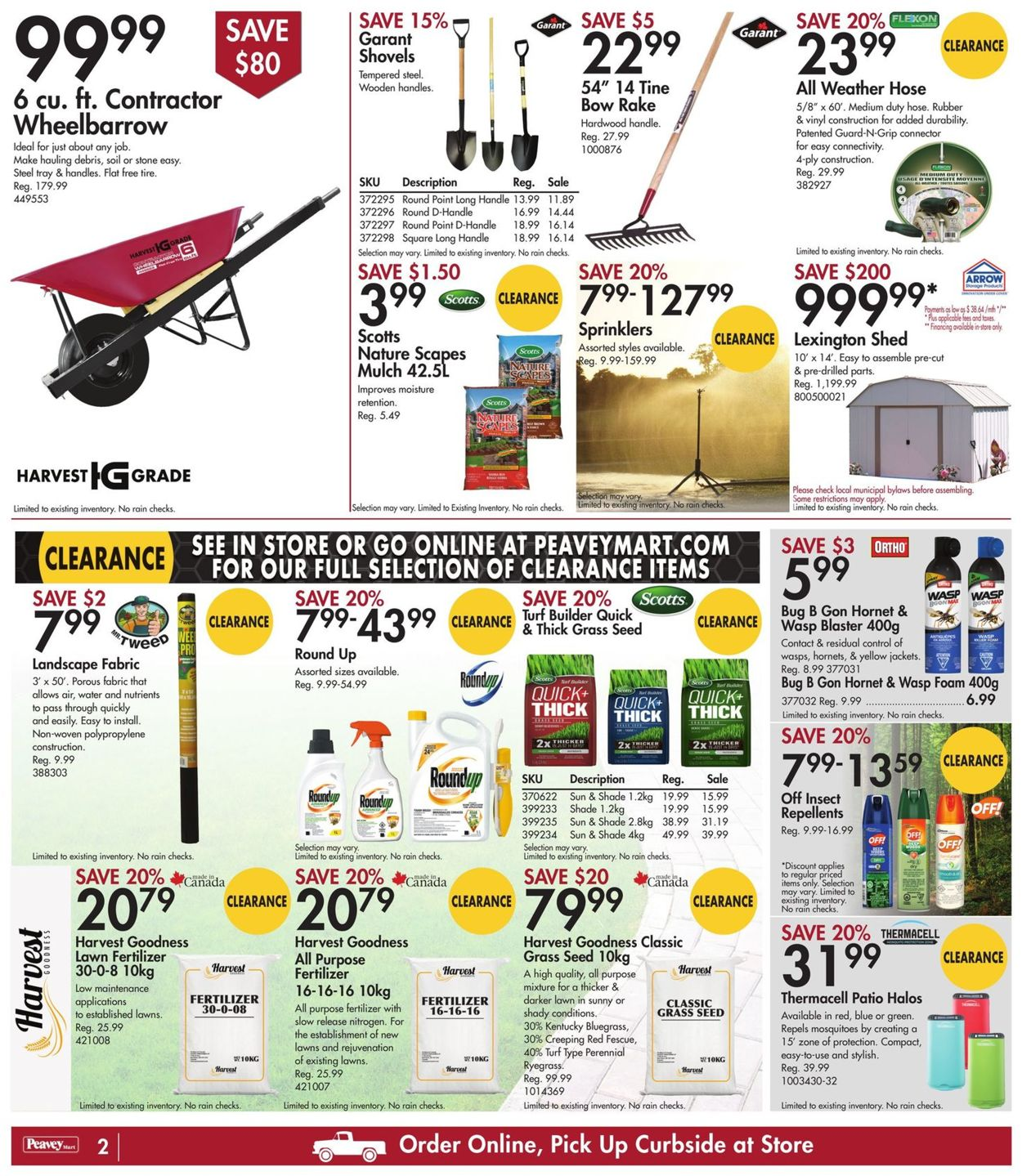 Peavey Mart Flyer - 07/16-07/22/2021 (Page 2)