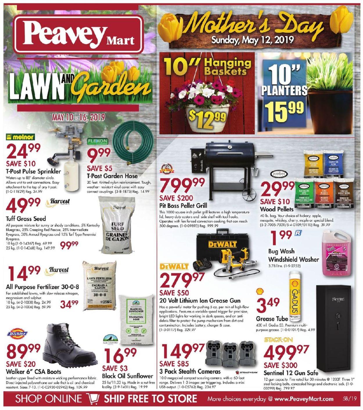 Peavey Mart Flyer - 05/10-05/16/2019