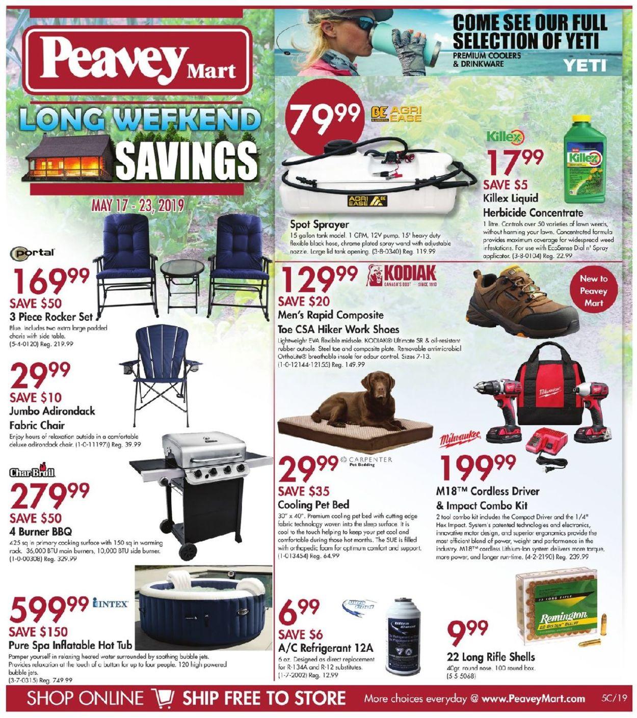 Peavey Mart Flyer - 05/17-05/23/2019