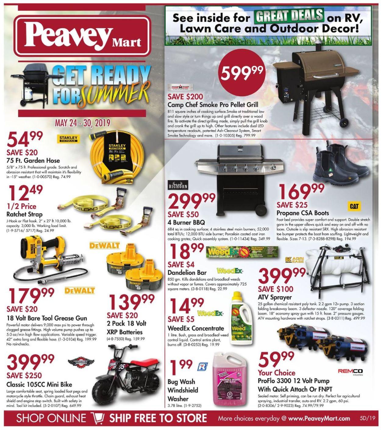 Peavey Mart Flyer - 05/24-05/30/2019