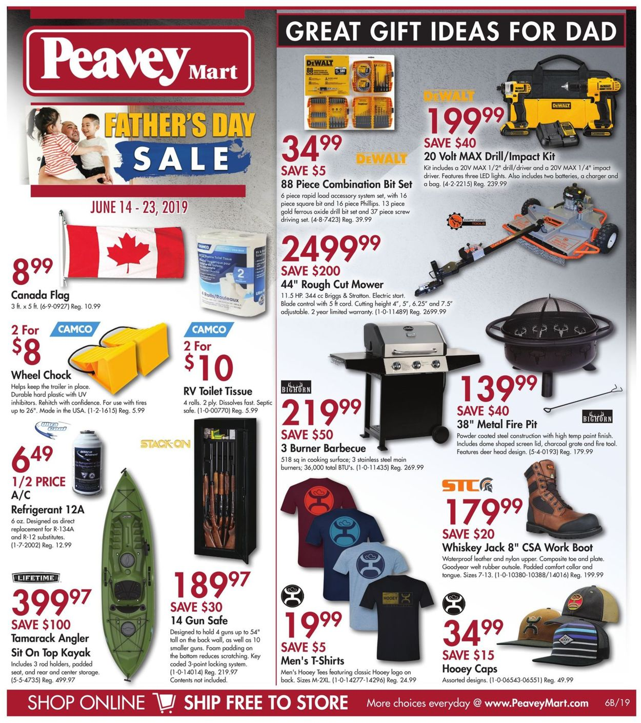 Peavey Mart Flyer - 06/14-06/23/2019