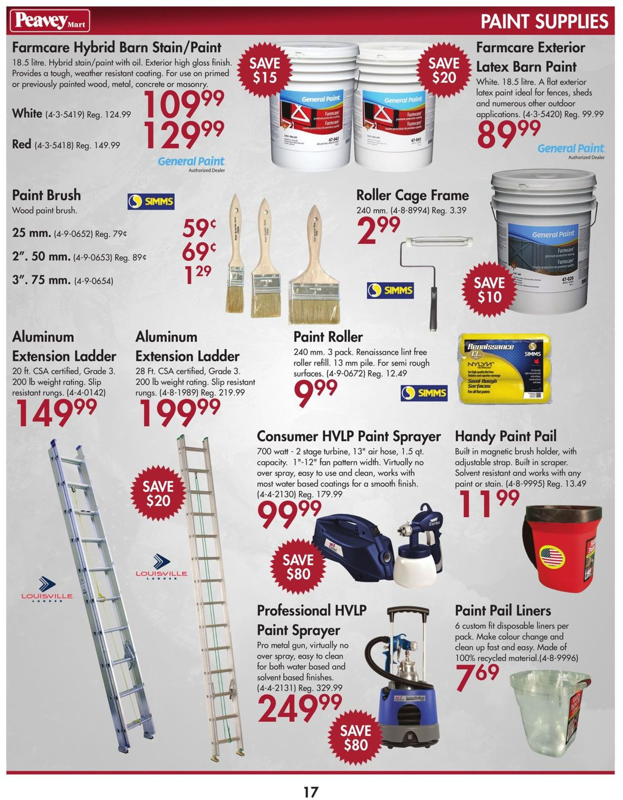 Peavey Mart Flyer - 07/02-07/31/2019 (Page 17)