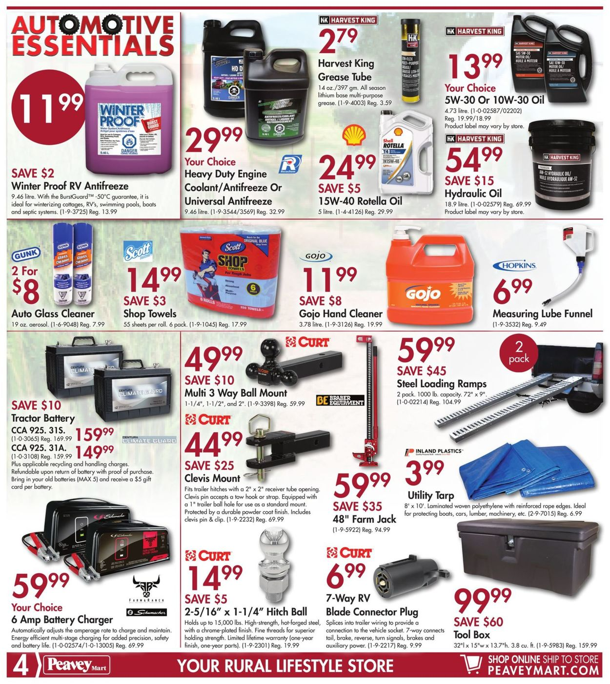 Peavey Mart Flyer - 08/09-08/18/2019 (Page 4)