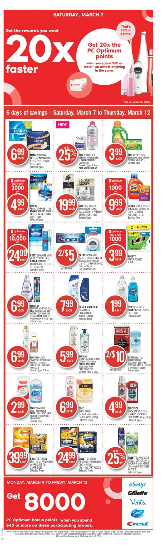 Pharmaprix Flyer - 03/07-03/12/2020