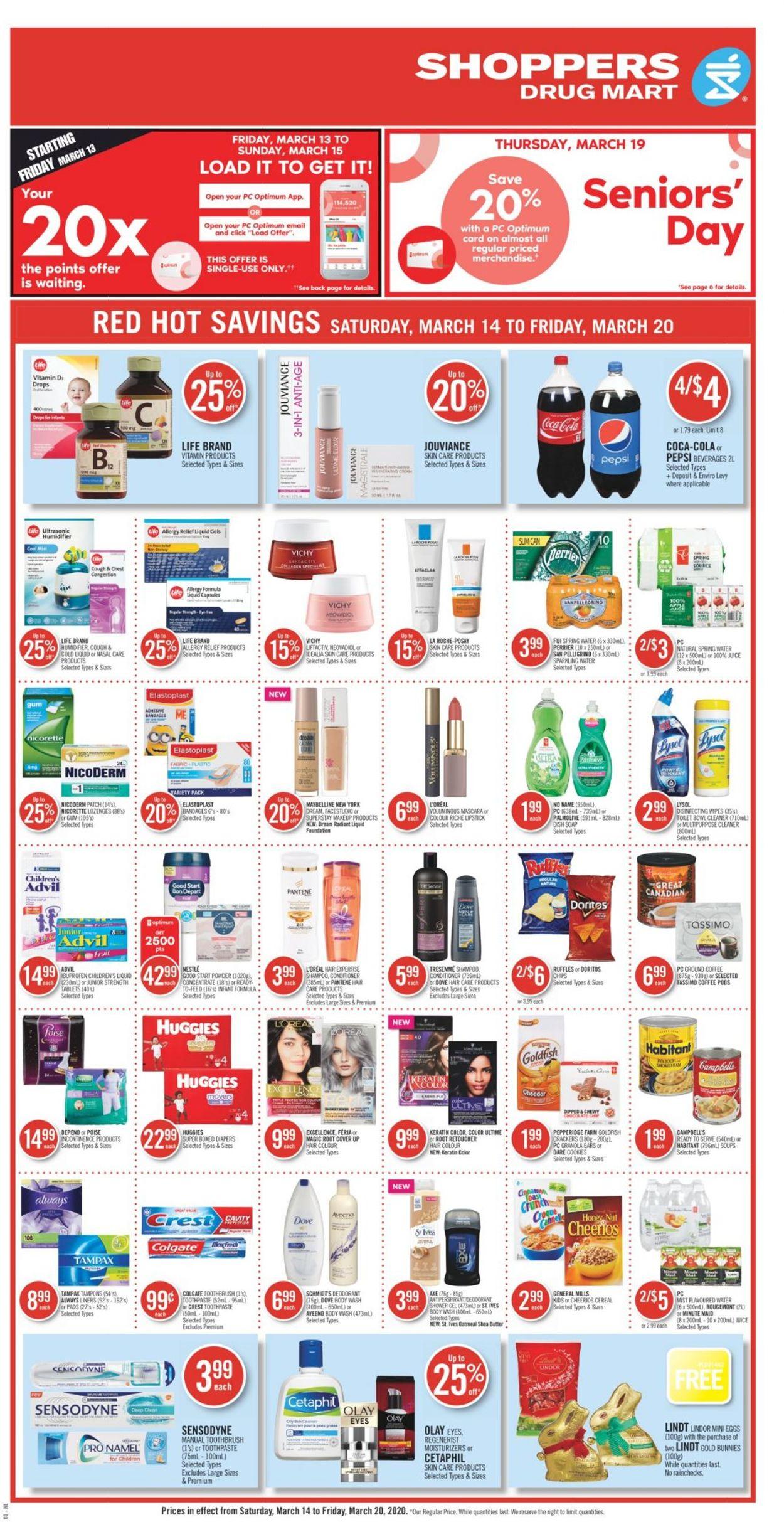 Pharmaprix Flyer - 03/14-03/20/2020 (Page 3)