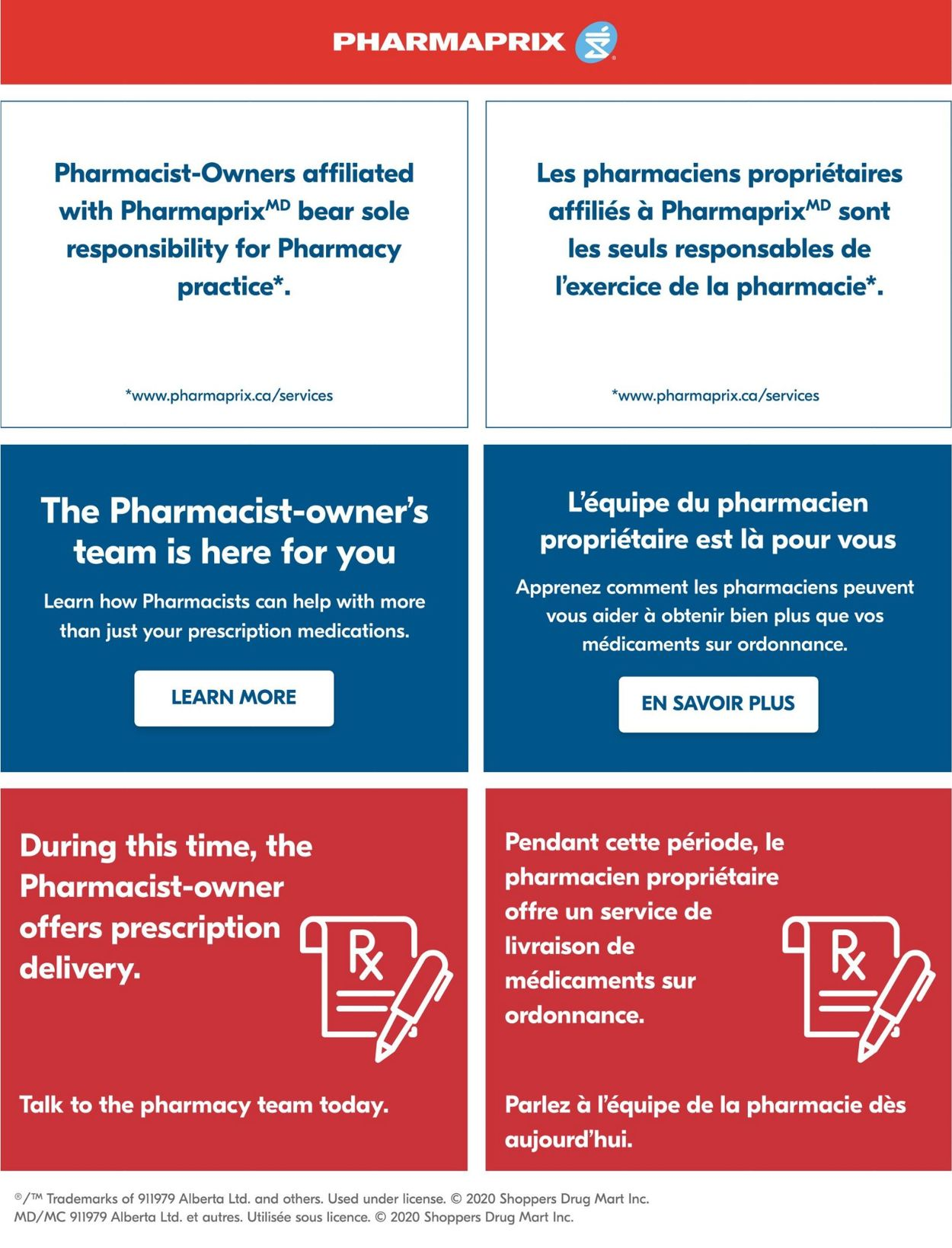 Pharmaprix Flyer - 05/02-05/08/2020