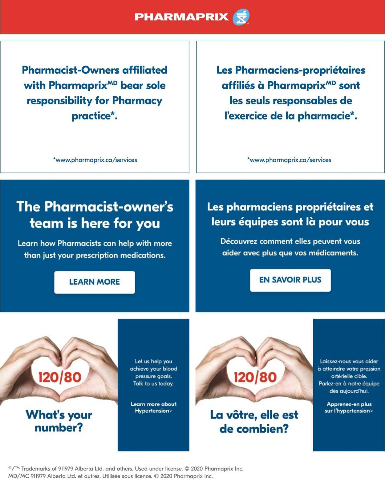 Pharmaprix Flyer - 05/30-06/05/2020